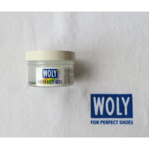 Woly-Lederpflege, Perfect Gel, Glasdose 50 ml