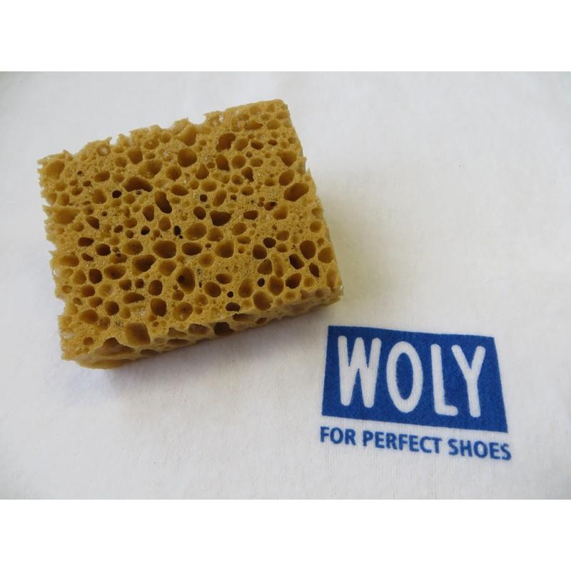 Woly- Set: Schwämmchen und Poliertuch