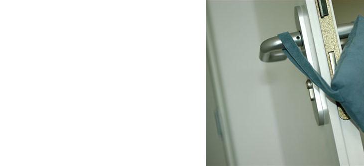 Türkissen / Türpolster doorly®- Anwendung