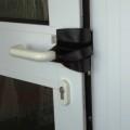 Türstopper flach aus Leder