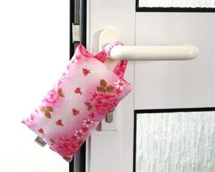 Türstopper - Fensterstopper Rosenkissen rosa